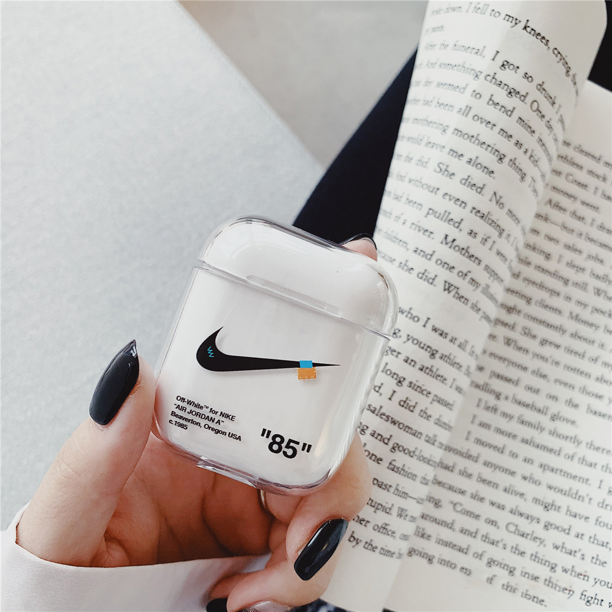 airpods pro case nike x off white